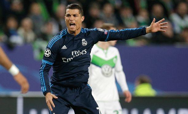 Cristiano Ronaldo ei pystynyt kannattelemaan Real Madridia.