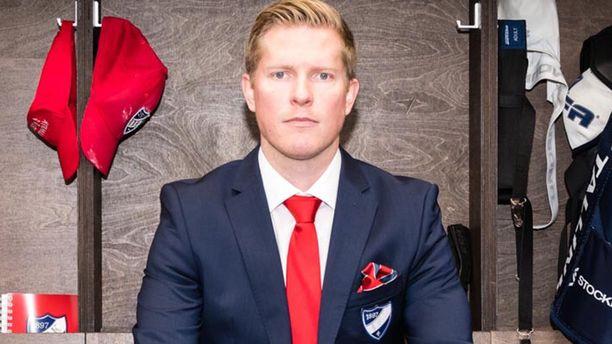Tobias Salmelaisen tehtävä on nostaa HIFK eurooppalaisten huippuseurojen joukkoon