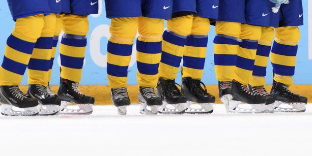 Ruotsin jääkiekkoliitossa kuohuu. Kuvituskuva.