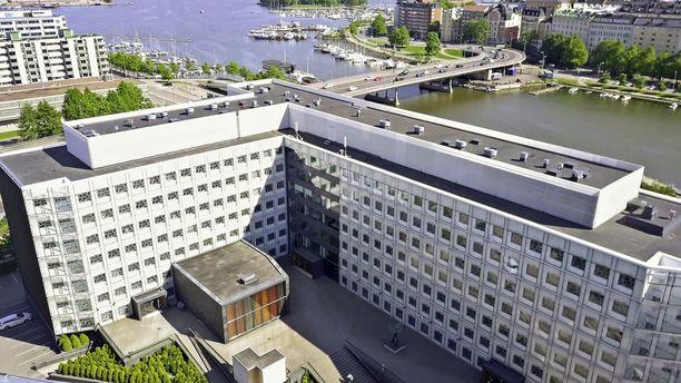 Suomen Akatemia toimii Hakaniemessä Helsingissä.