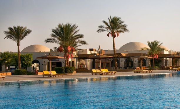 Egyptissä riittää aurinkoa ympäri vuoden.