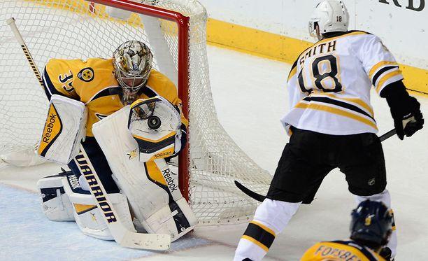 Pekka Rinne on yksi alkukauden hahmoista NHL:ssä.