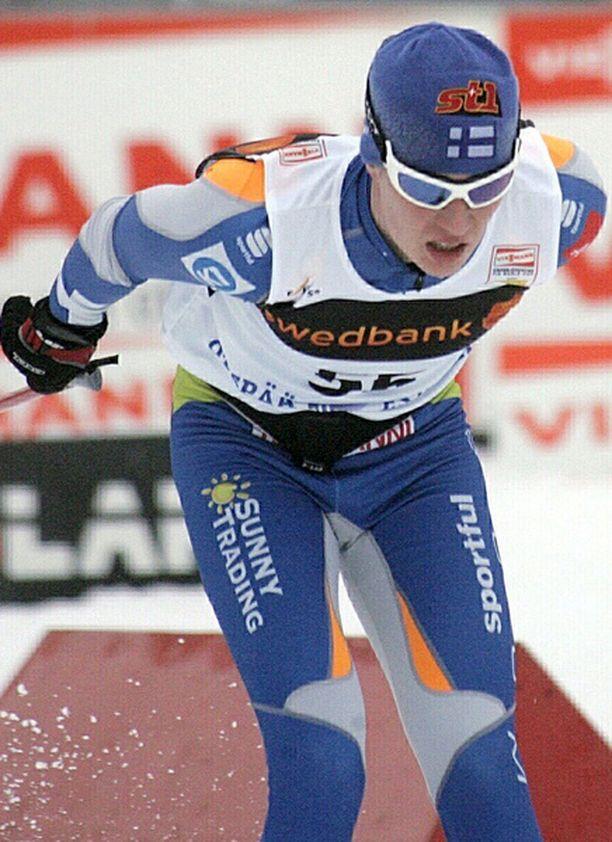 MM-kisojen ensimmäinen miesten hiihtomatka on perjantain 15 kilometriä perinteisellä hiihtotavalla. Suomea edustavat Matti Heikkinen (kuvassa), Sami Jauhojärvi ja Ville Nousiainen.