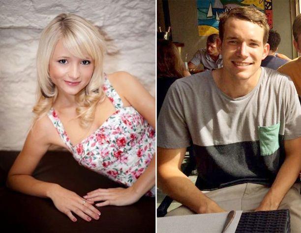 Hannah Witheridge ja David Miller surmattiin rannalle kaksi viikkoa sitten.