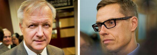 Iltalehden tietojen mukaan Olli Rehnistä olisi tulossa ulkoministeri ja Alexander Stubbista työ- ja elinkeinoministeri.