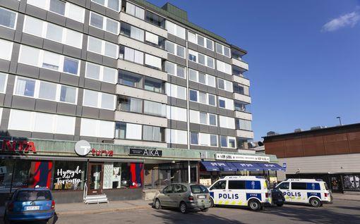 Puukotus Kouvolan keskustassa: poliisi tutkii tapon yritystä