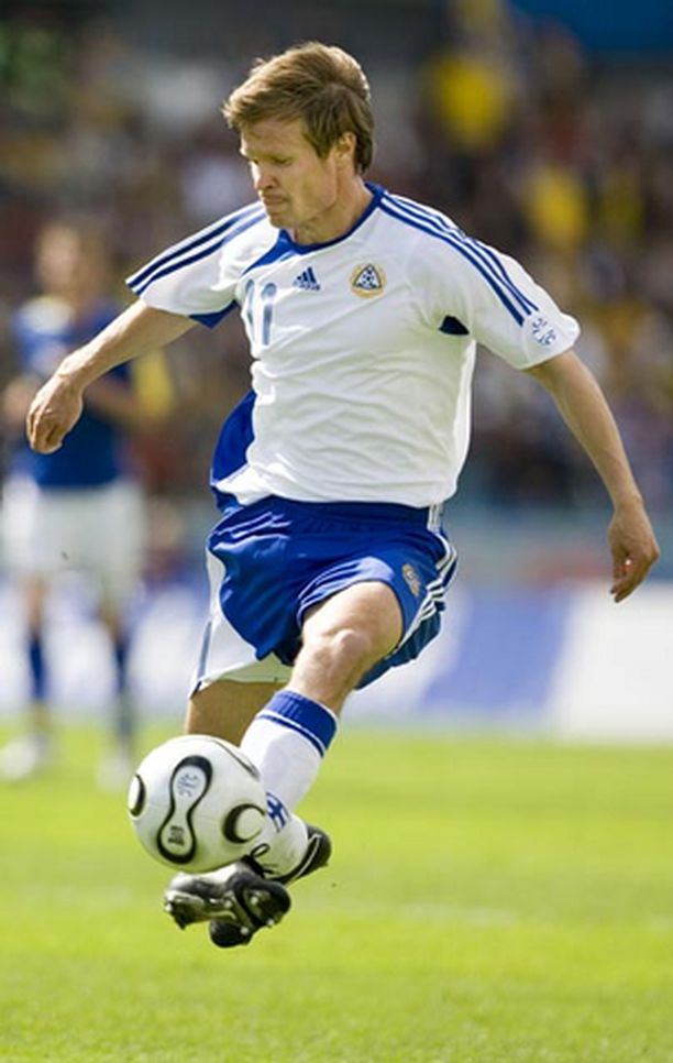 Joonas Kolkka on esiintynyt Suomen maajoukkueessa jo toistakymmentä vuotta.