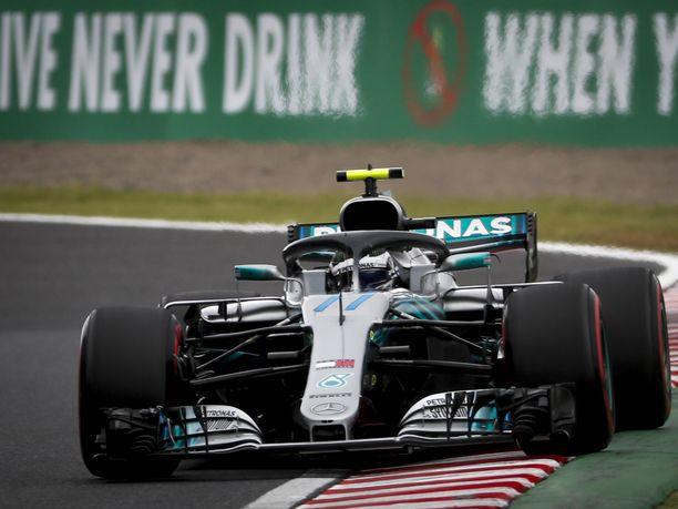 Mercedes on vienyt Suzukassa paalupaikan viitenä vuonna peräkkäin.