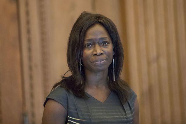 Liberaalien uusi puoluejohtaja Nyamko Sabuni kuvattuna vuonna 2017.