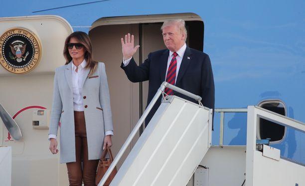 Presidenttipari saapui Suomeen ennen iltayhdeksää.