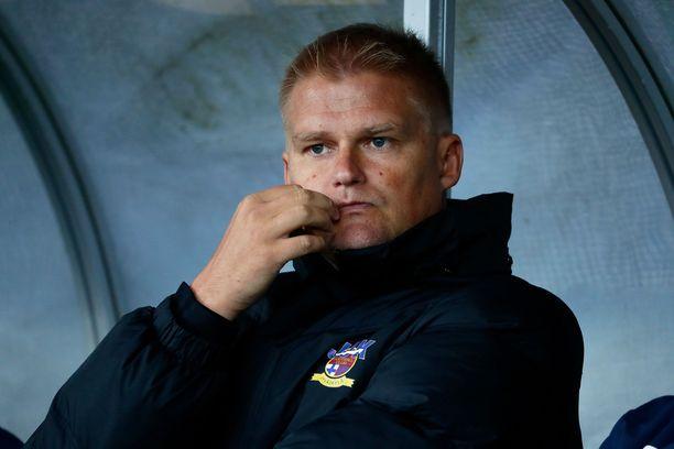 Juha Pasoja valmensi viime kaudella Veikkausliigassa jyväskyläläistä JJK:ta.
