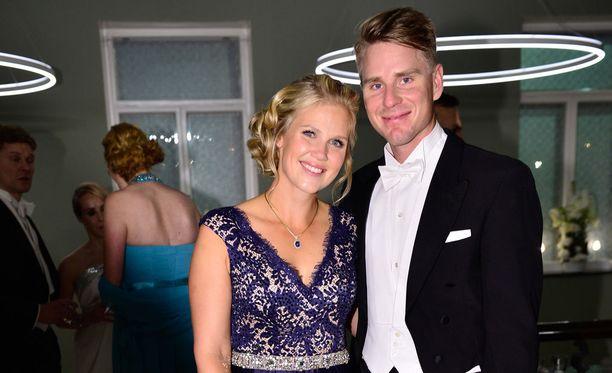 Minea ja Roope menivät naimisiin vuonna 2011.