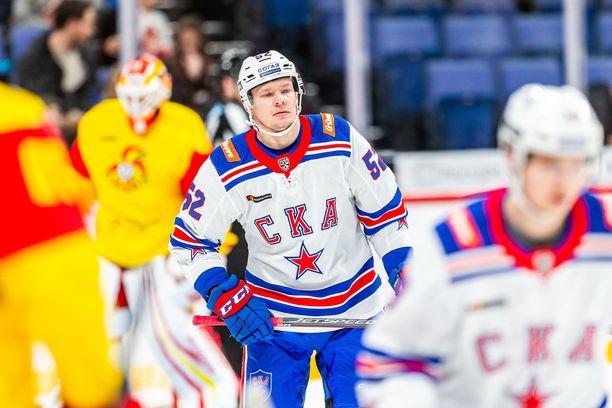 Miro Aaltonen pelaa kolmatta perättäistä KHL-kauttaan.