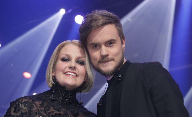 Leena Tirronen ja Lasse Piirainen muodostavat Norma John -duon.