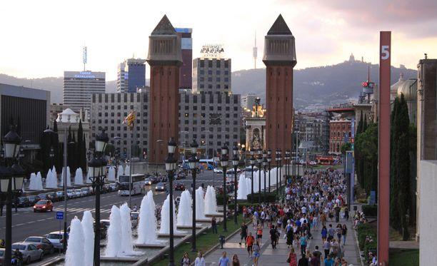 Barcelona on merkittävä kaupunki huumeiden salakuljetusringissä.