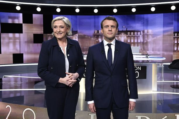 """Marine Le Penin valtakaudella Euroopan unionia uhkaisi hajoaminen. Myös Emmanuel Macron on väläyttänyt """"Frexitiä"""", mikäli Euroopan unionia ei reformoida."""