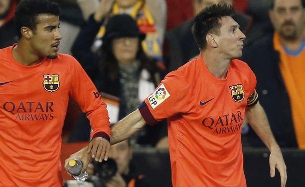 Lionel Messin korttitili ei tahriintunut ikävän episodin takia.