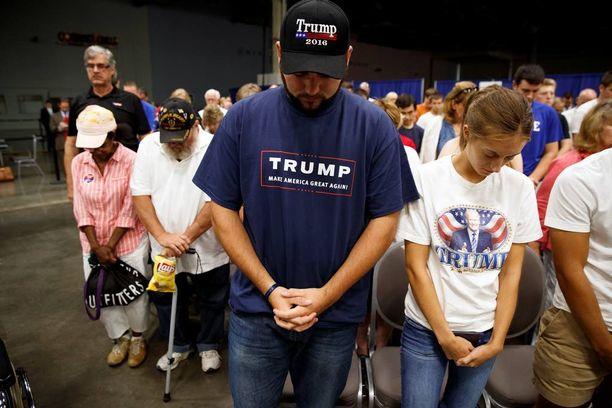 Trump suunta sanomansa valkoiselle työväestölle ja alemmalle keskiluokalle.
