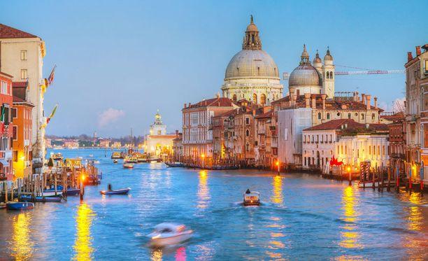 Venetsia pääsi Lonely Planetin listalle, eikä suotta. Kaupunki on häikäisevän kaunis.