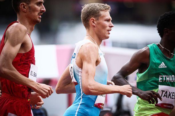 Topi Raitanen juoksi olympiafinaaliin.