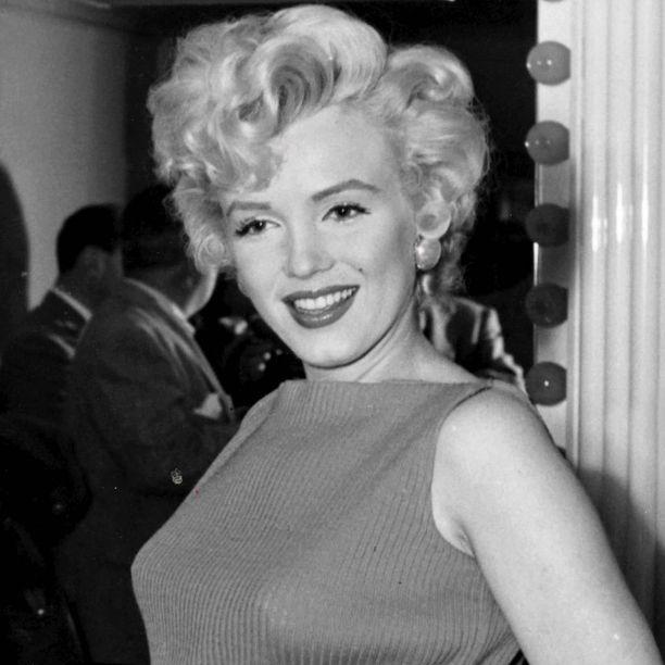 Maailman kuuluisin blondi Marilyn Monroe sijoittui listalla sijalle 9.