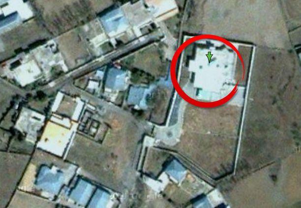 Täältä USA:n erikoisjoukot löysivät Osama bin Ladenin.
