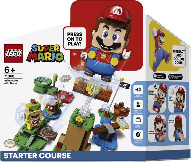 Super Mario -legosarjan aloitussetti on suurimpia leluhittejä tänä vuonna.