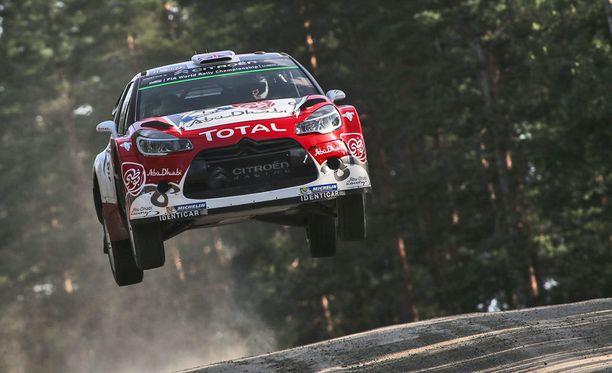 Kris Meeke ja Paul Nagle ajoivat hienosti Jyväskylässä.