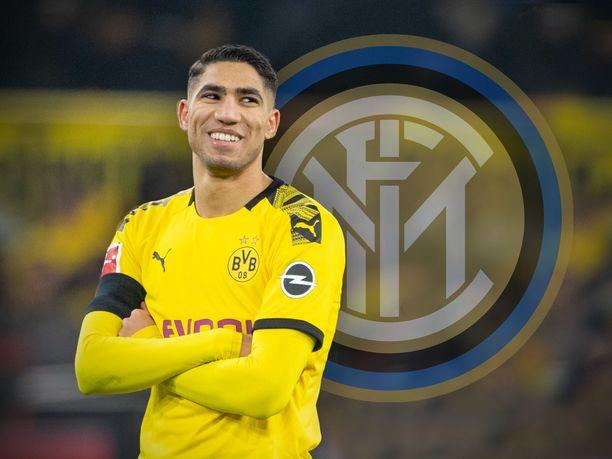 Achraf Hakimii pelasi kaksi viime kautta lainalla saksalaisessa Borussia Dortmunissa.