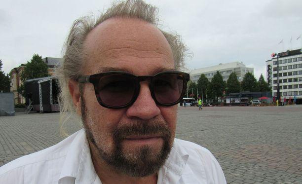 Jussi Parviainen sanoo saaneensa Jumalan teatterista ikuisen leiman.