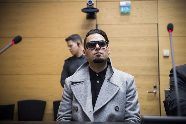 Axl Smith oikeudessa viime huhtikuussa.