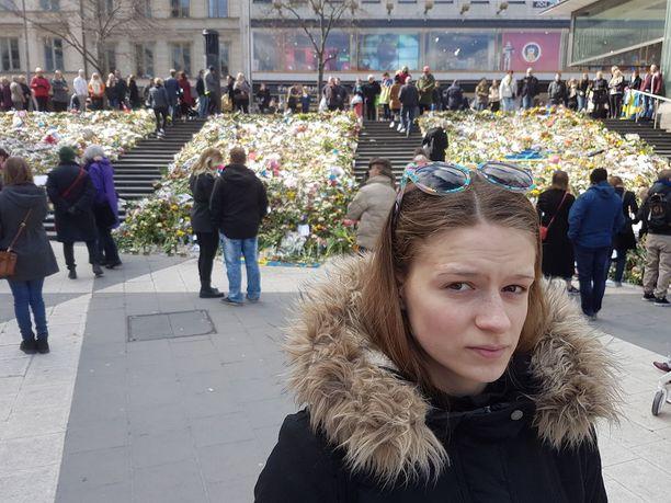 Cecilia Berntsson ei kyennyt pidättelemään kyyneleitään, kun hän mietti viime viikon tapahtumia.