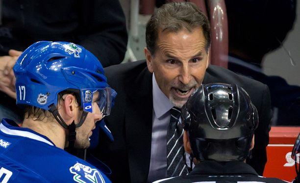 "John ""Torts"" Tortorella on jo legendaarinen NHL-hahmo."