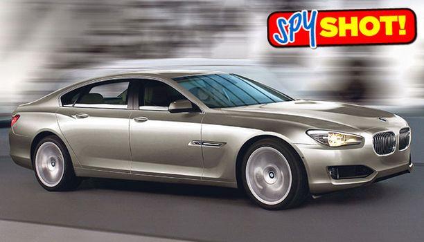 ONKO SE TÄMÄ Legendaarinen BMW:n 8 -sarja on saamassa jatkoa. Kuvien perusteella titaanien taistelu luksusmarkkinoilla kovenee vuonna 2012 tai ehkä jo vuotta, paria aiemmin.