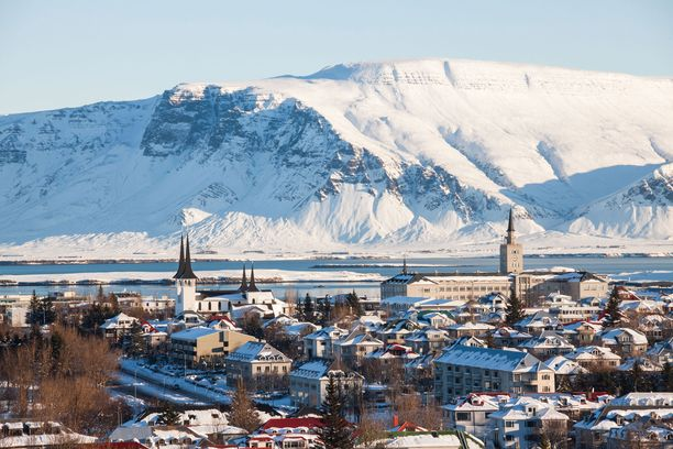 Järistyksen tuntuivat myös pääkaupungissa Reykjavíkissa.