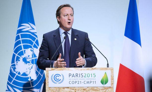 Brtiannian pääministeri David Cameron on luottavainen, että maan parlamentti hyväksyy ilmaiskut Syyriaan.