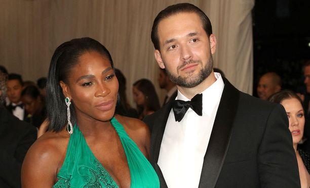 Serena Williams ja Alexis Ohanian ovat nyt onnelliset vanhemmat.