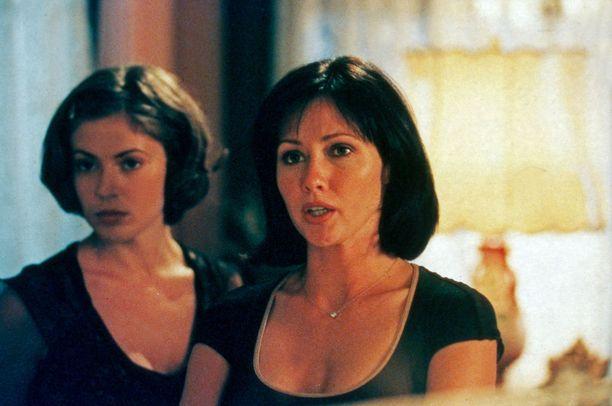 Alyssa Milano ja Shannen Doherty riitelivät usein Siskoni on noita-sarjan kuvauksissa.
