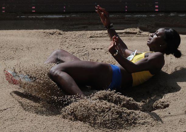 Khaddi Sagnia sijoittui kuudenneksi Berliinin EM-kilpailuissa tuloksella 6,47.