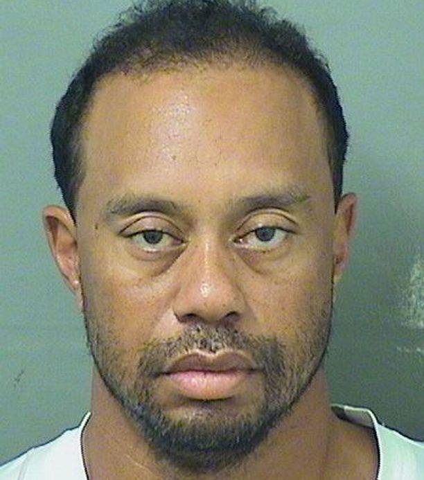 Tiger Woods pidätettiin 29. toukokuuta.