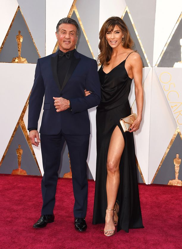 Sylvester Stallone ja Jennifer Flavin.