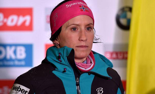 Marit Björgen tunnusti, että äitiyden ja huippu-urheilun yhtälö on ollut haastava.