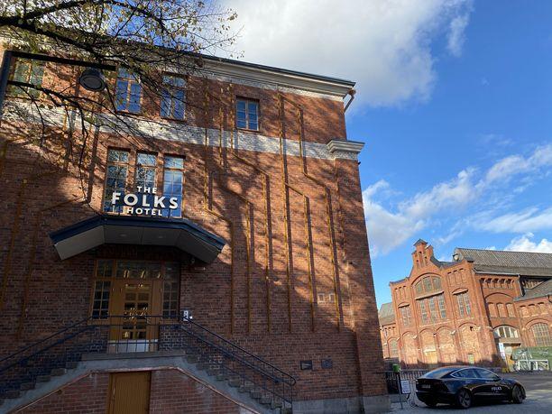 Vallilassa sijaitsevalta Konepajan alueelta löytyy 9. lokakuuta ovensa avannut hotelli.