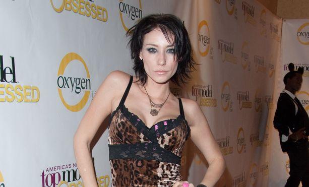 America's Next Model -ohjelmasta tuttu Jael Strauss poseerasi tähän tyyliin vuonna 2009.