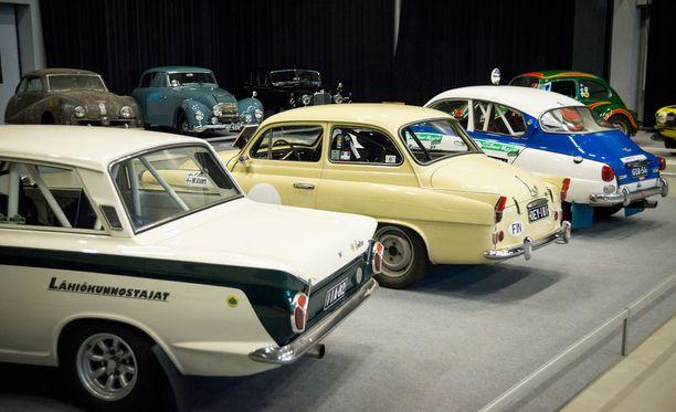 60-lukua: Cortina Lotus, Skoda Octavia TS ja Saab 96 V4.