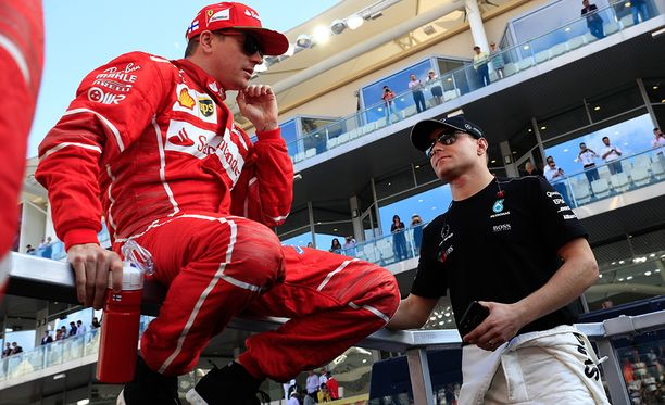 Kimi Räikkönen ja Valtteri Bottas keräsivät yhdessä enemmän MM-pisteitä kuin minkään muun maan kuljettajat.