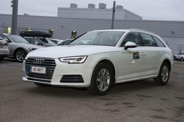 Edustustason auto pienillä käyttökuluilla. Kotimaisella biokaasulla kulkeva Audi A4 G-Tron voitti kaasuautosarjan.
