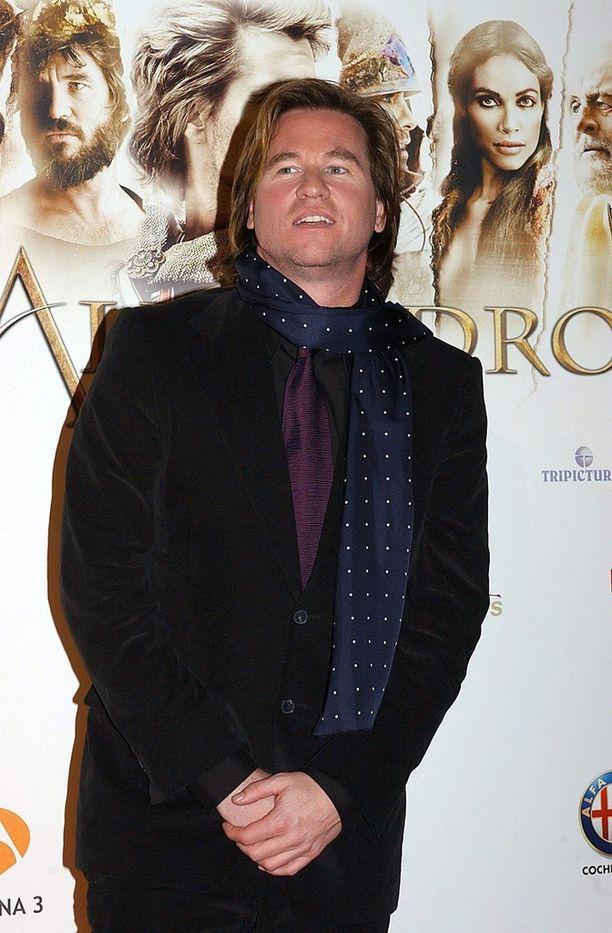 Val Kilmer vuonna 2004 Aleksanteri Suuri -elokuvan ensi-illassa.