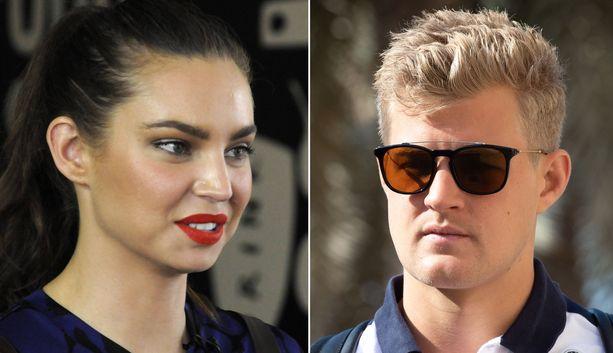 Sarah Toddin ja Marcus Ericssonin välille huhuttiin parisuhdetta vuonna 2015.