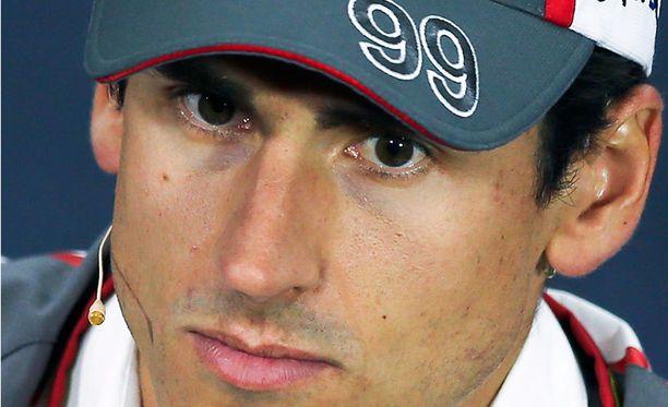 Adrian Sutililla oli hermo kireällä Yhdysvaltojen GP:ssä.